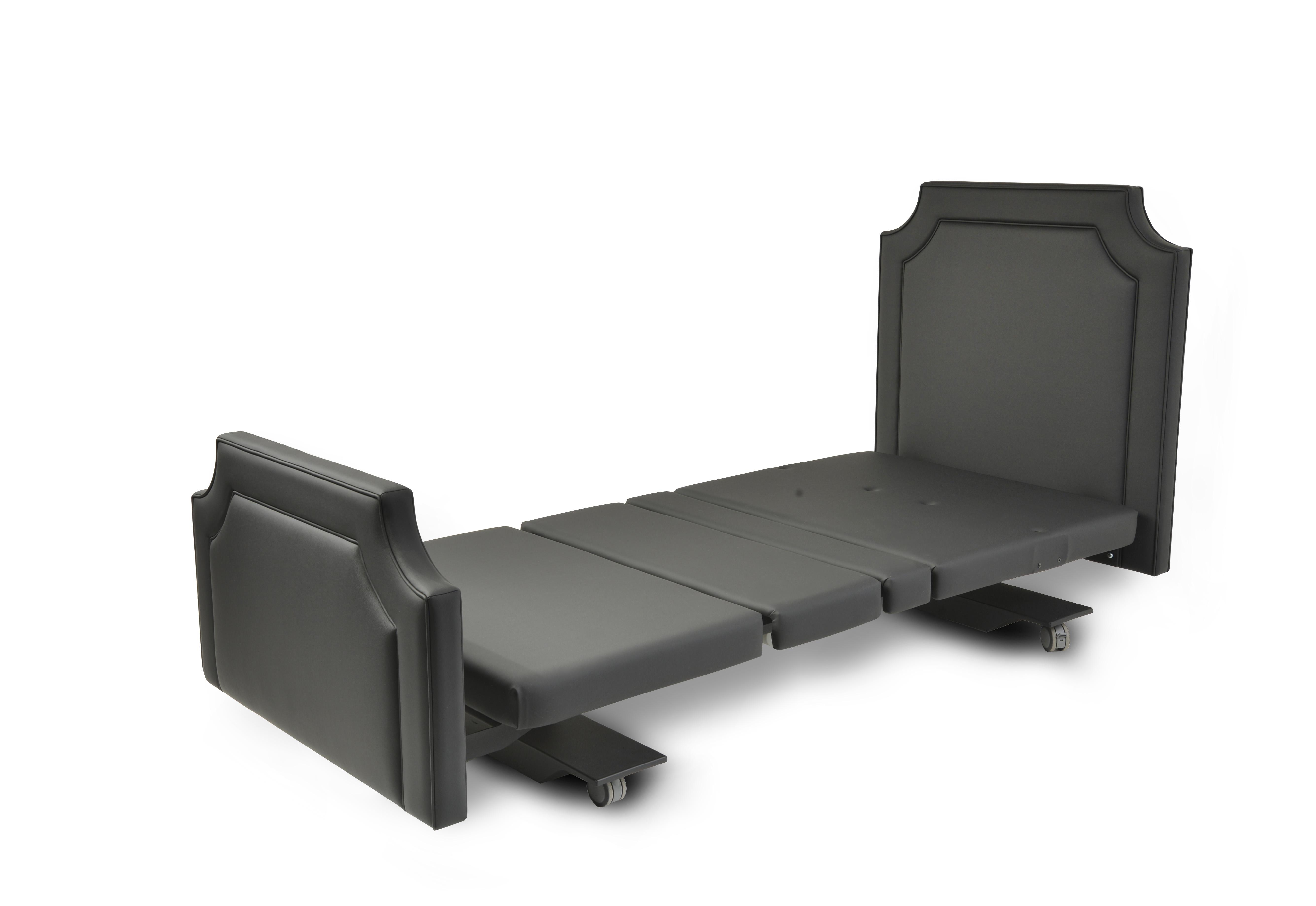 Assured Comfort Hi Low Adjustable Bed - Mobile Series - Fabric - Down Position