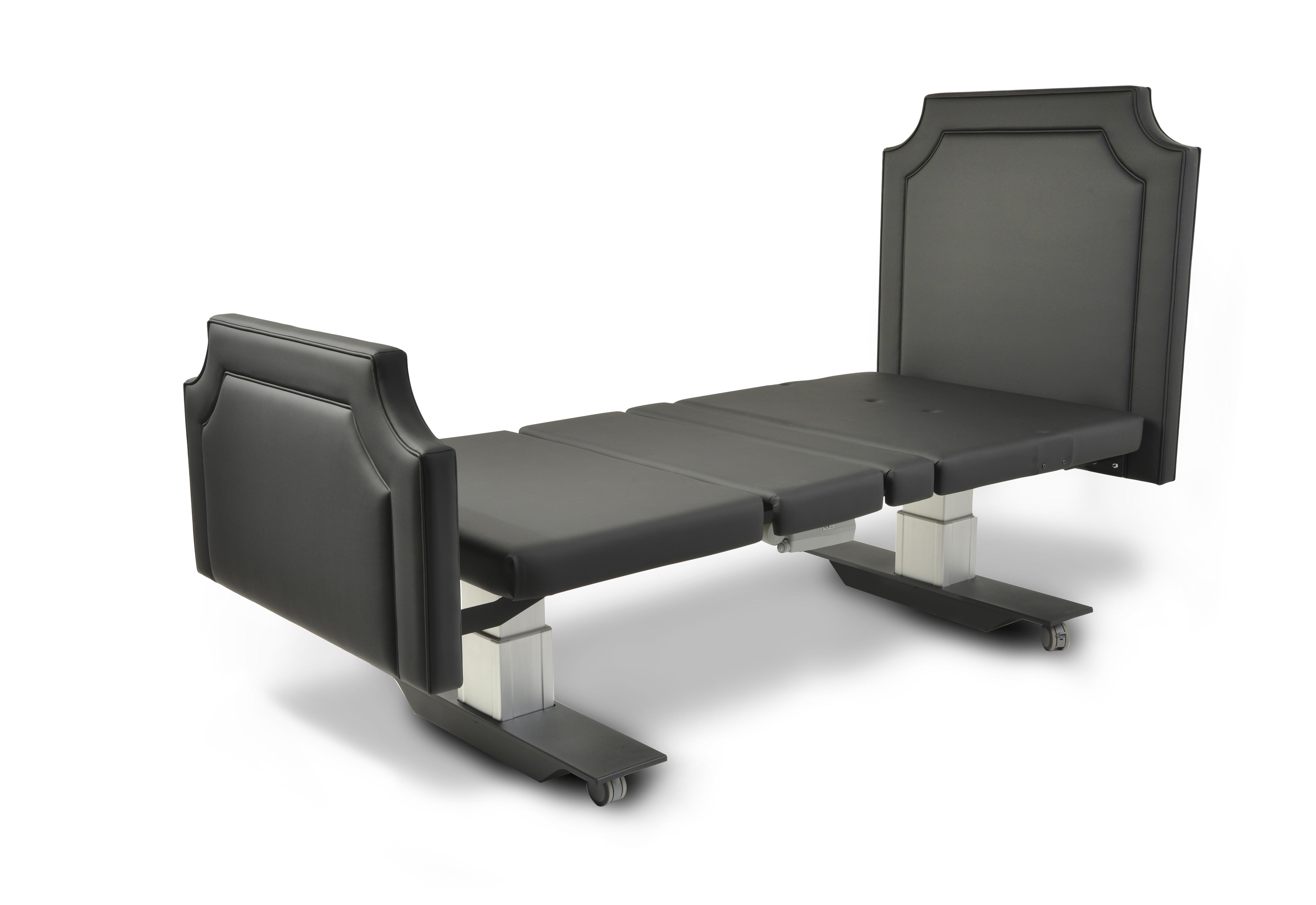 Assured Comfort Hi Low Adjustable Bed - Mobile Series - Fabric - Up Position
