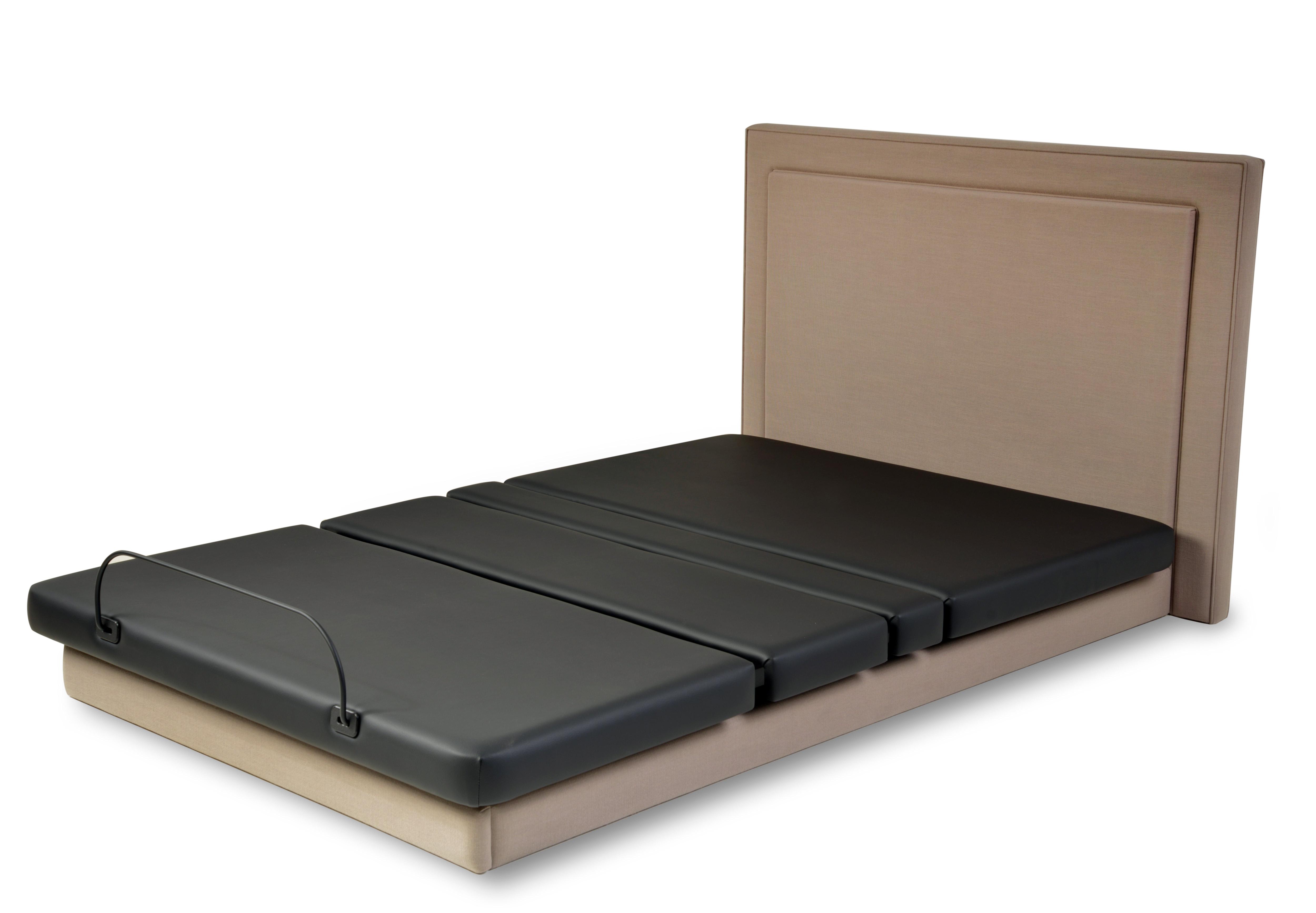 Assured Comfort Hi Low Adjustable Bed Platform Series Upholstered Panel - Down position