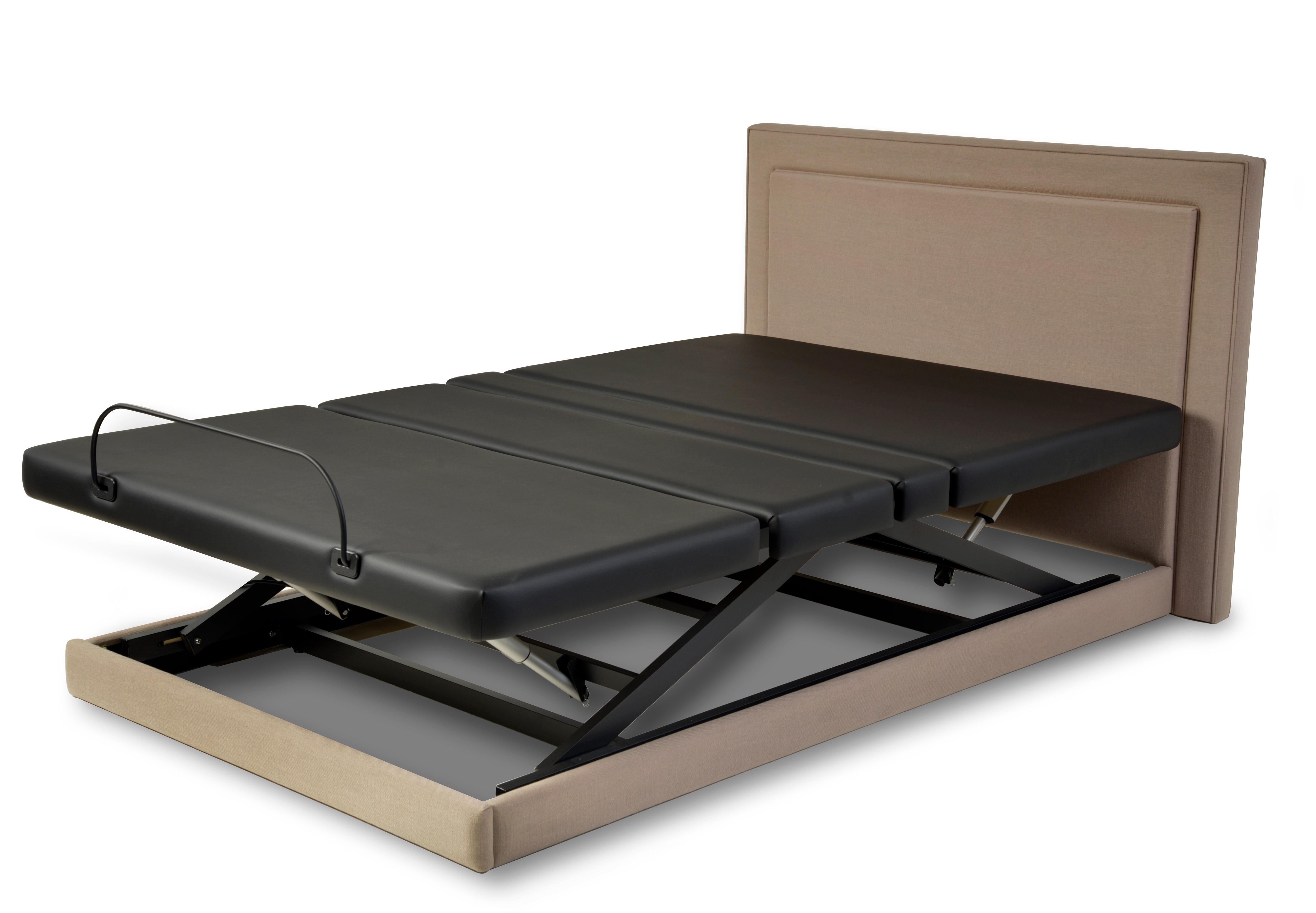 Assured Comfort Hi Low Adjustable Bed Platform Series Upholstered Panel - Up position