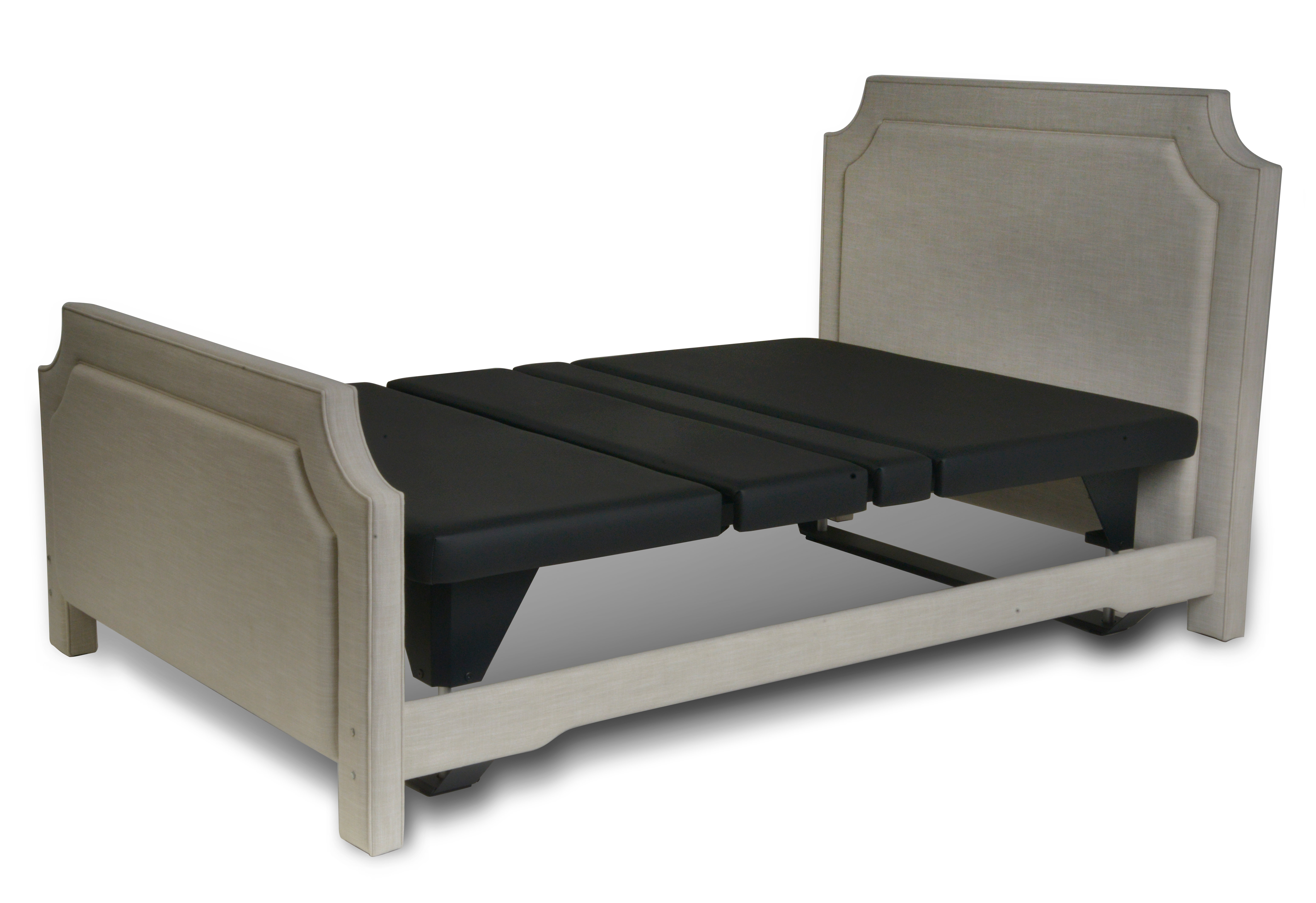 Assured Comfort Hi Low Adjustable Bed Signature Fabric - Up Position