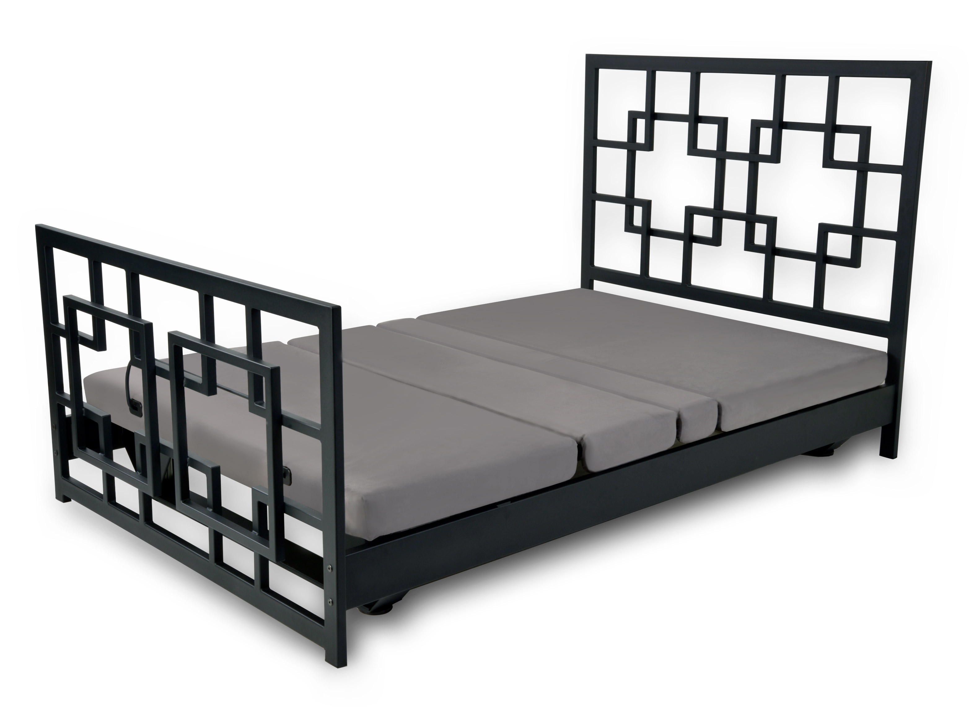 Assured Comfort Signature Series - Chinese Chippendale Black - Down Position