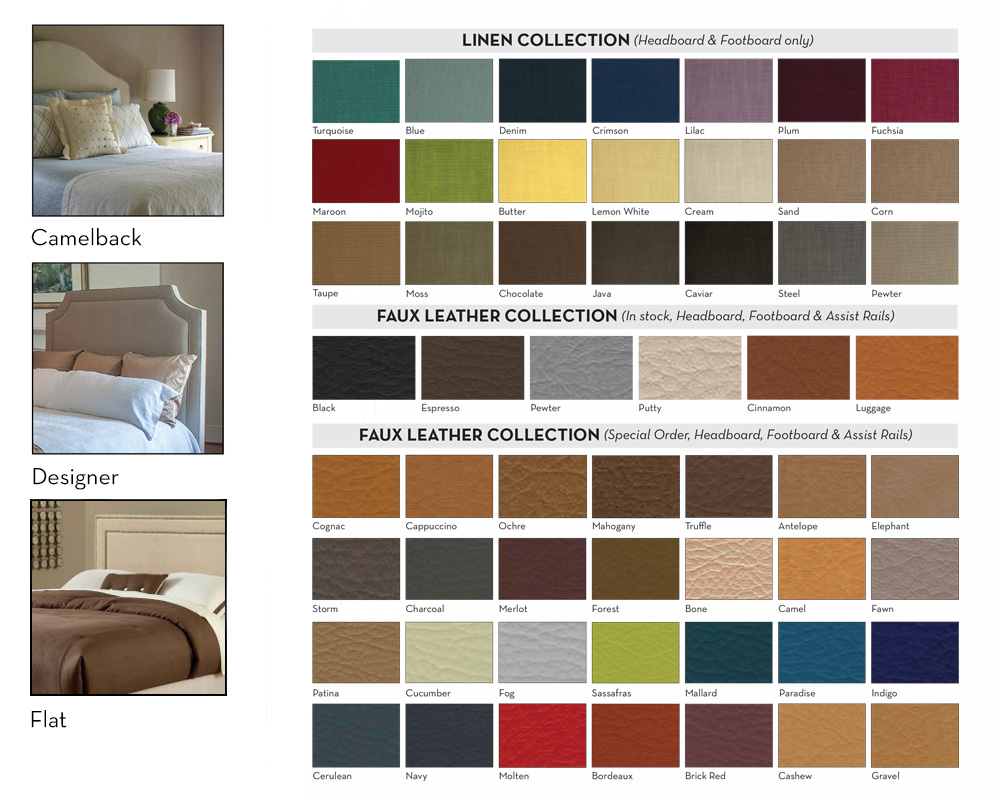 Assured Comfort Fabric Upholstered - Headboard Selections