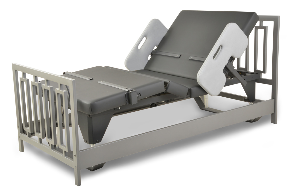 Assured Comfort Hi-Low Adjustable Bed - Signature Series - New Modern - Articulating Position
