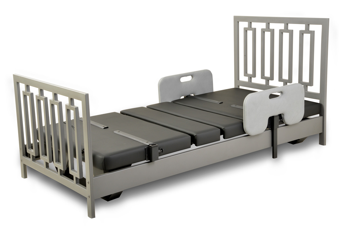 Assured Comfort Hi-Low Adjustable Bed - Signature Series - New Modern - Down Position