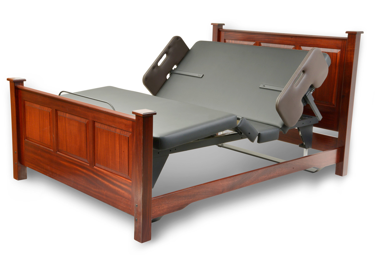 Assured Comfort Hi Low Adjustable Bed Signature Series Fabric - Articulation