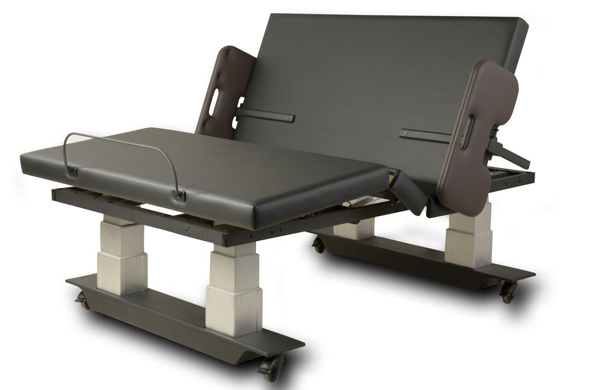 Assured Comfort Hi Low Adjustable Bed - Mobile Series - Mission Style - Articulation - Assist Rail Adaptive