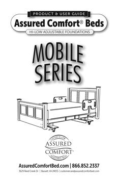 Assured Comfort® Hi-Low Adjustable Beds - Mobile Series - Product Guide