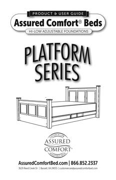 Assured Comfort® Hi-Low Adjustable Beds - Platform Series - Product Guide