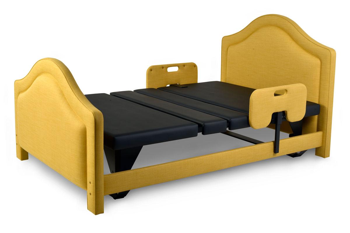Assured Comfort Hi-Low Adjustable Bed Signature Series with Dandelion Upholstery