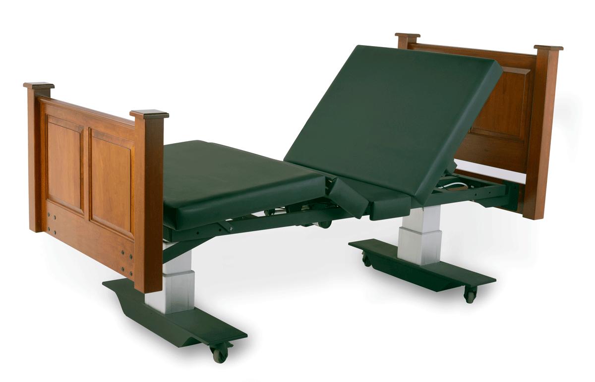 Assured Comfort Hi-Low Adjustable Bed Mobile Series with Raised Panel - Articulation